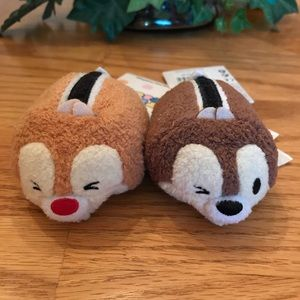 NWT Chip and Dale Tsum Tsums